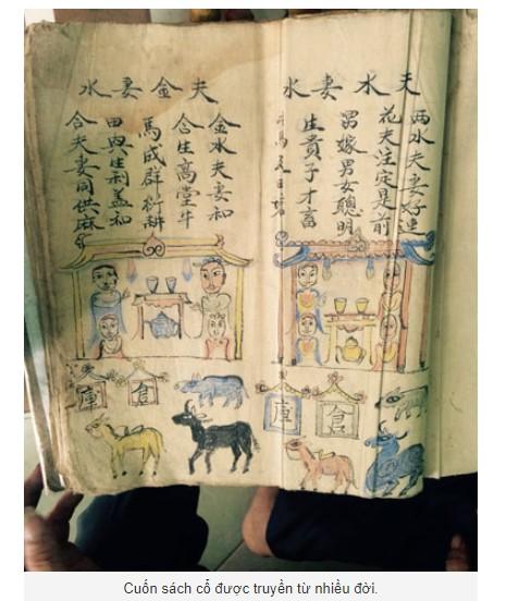 Bùa luyện là bùa Cao Lan kết hợp với nhiều thông tin trên sách cổ