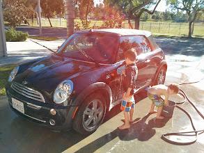Photo: Car Wash Expenses Go Down