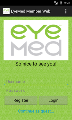 android EyeMed Members Screenshot 0