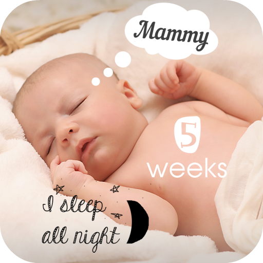 Baby Milestones Pics Story Editing App Icon