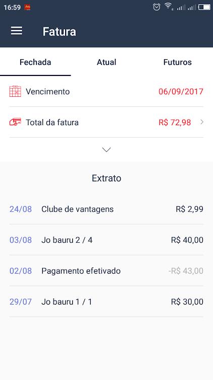 0f50a1022 Cartão Fest Club (Android) By: Oscar Calçados ...