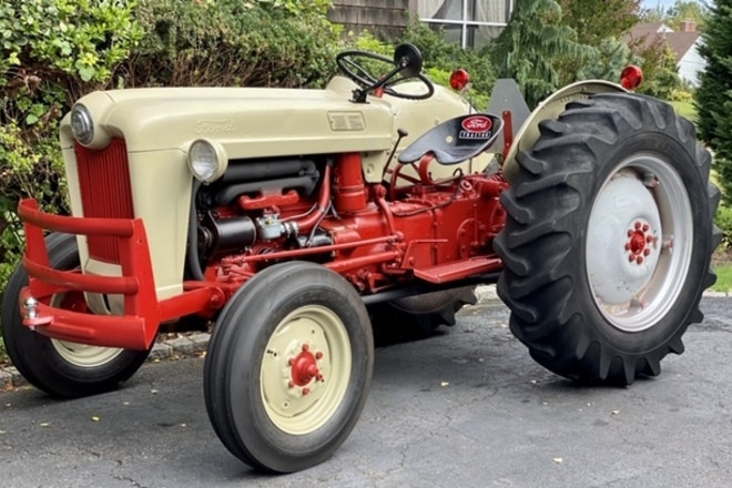 1953 Ford Golden Jubilee Tractor Hire NY