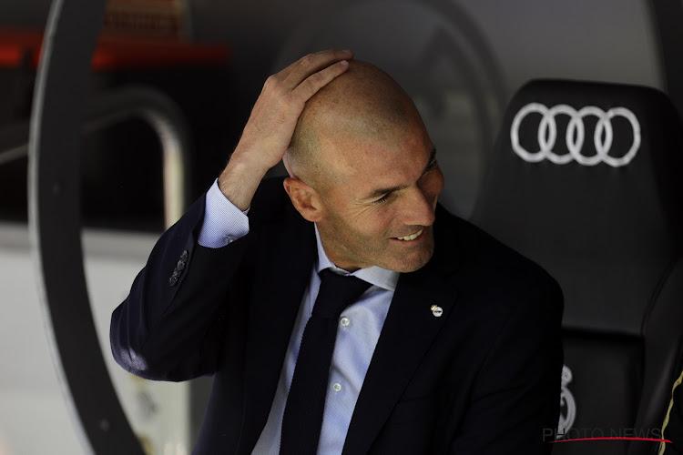 """Zidane assume la responsabilité """"du plus mauvais match de la saison"""""""