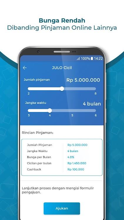 Julo Pinjaman Online Cepat Cair Kredit Bulanan Android
