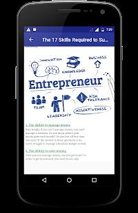Entrepreneurship Skills - náhled