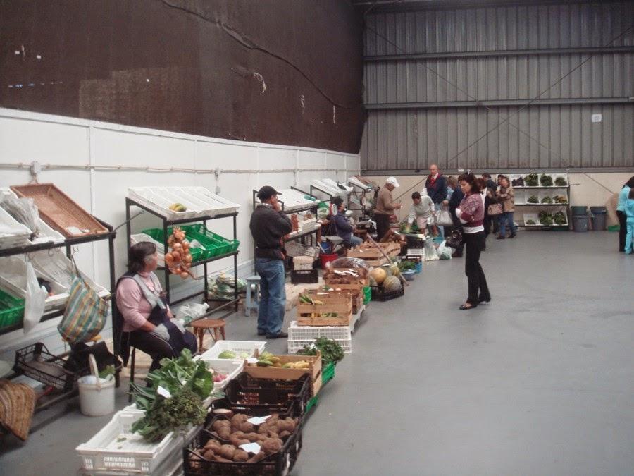 Een keur aan verse groenten op de lokale markt bij ons in de buurt. De basis voor lekker eten!