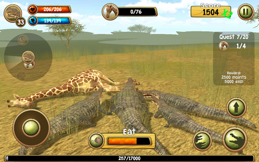 Wild Crocodile Simulator 3D apkpoly screenshots 17