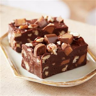 Double Chocolate Turtle Fudge