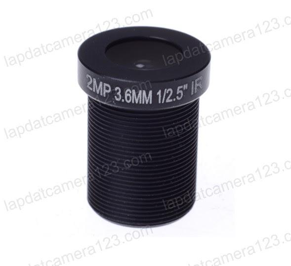 lens hd 3.6mm