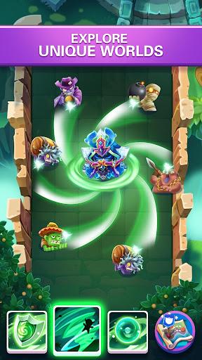 Hero War - Magic vs Monster Bounzy Brick Idle RPG apkdebit screenshots 3
