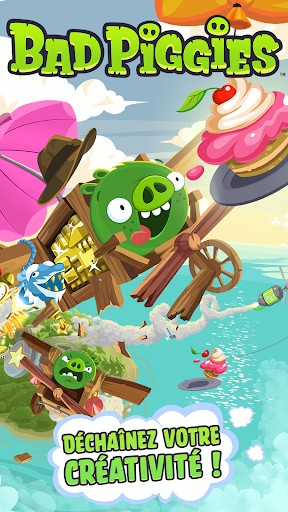 Bad Piggies HD  captures d'écran 1