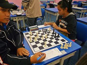 Photo: Checkmate!