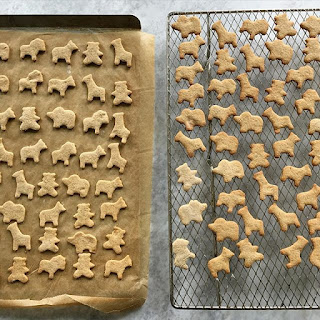 Whole Grain Animal Cracker Cookies