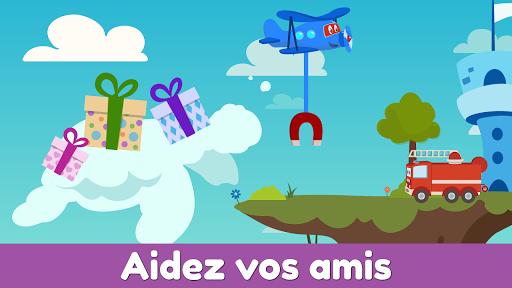 Code Triche Carl le Super Jet: Jeu d'Avion de Sauvetage APK MOD screenshots 3