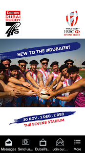 Emirates Airline Dubai Rugby7s - náhled
