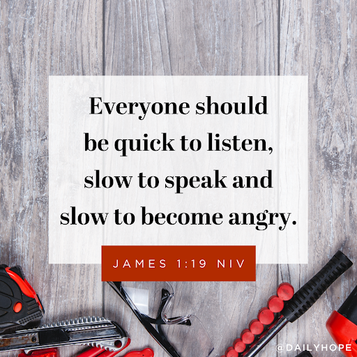 When You're Angry, Slow Down and T.H.I.N.K.