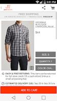 Screenshot of JackThreads: Shopping for Guys