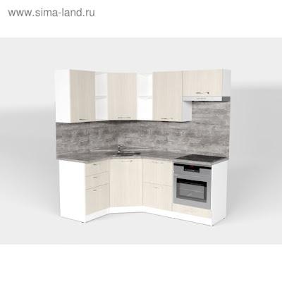 Кухонный гарнитур Лариса оптима 4 1400*2000 мм