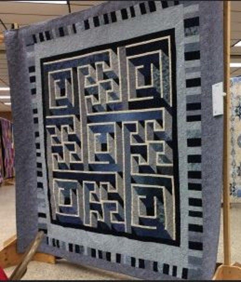 labyrinth walk quilt pattern