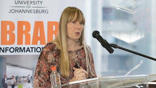 Jane Duncan, professor of journalism at the University of Johannesburg.