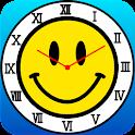 Smiley Face(yellow R) icon
