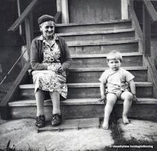 Photo: Dammen. Hanna och Peter Fahlgren 1963