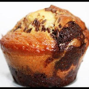 Chocolate-Vanilla Marble Muffins