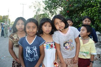 Photo: Mayan village children
