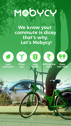 Mobycy - Dockless Bicycle Share|Bike Sharing India for PC