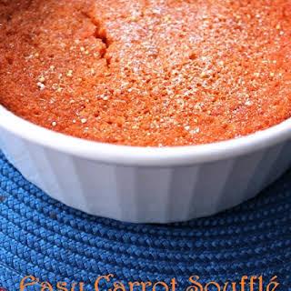 Easy Carrot Soufflé.