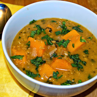 Butternut Squash and Red Lentil Stew Recipe