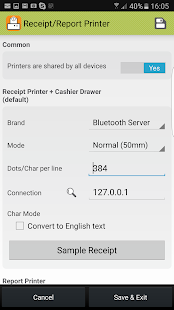 Bluetooth POS Printer Boost - náhled