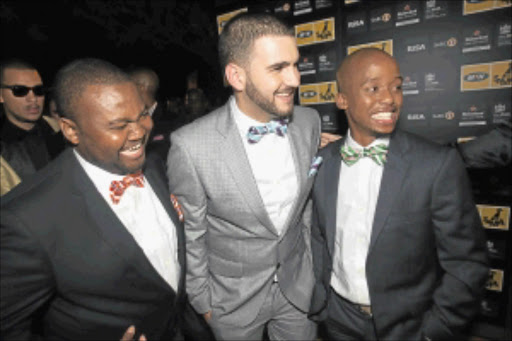 THREESOME: Mi Casa never expected the success and  popularity they have gained during such a short time in the entertainment industry.Photo: VELI NHLAPO