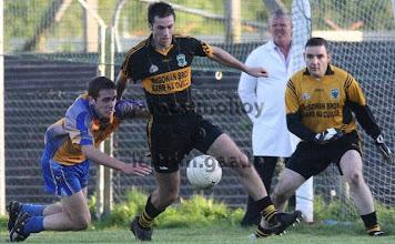 Photo: John Mc Guinness v Glencar Manorhamilton, Co Semi Final Replay 2009