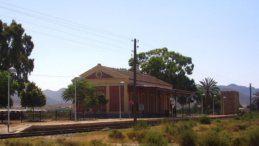 Estación de tren de Pulpí.