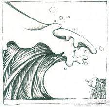 Photo: 分子漫画: 民如水宜导不宜堵