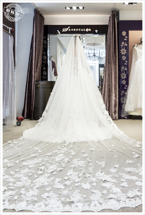 韓國SPOENSHA法式婚紗