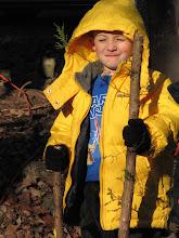 Photo: Reed walking stick