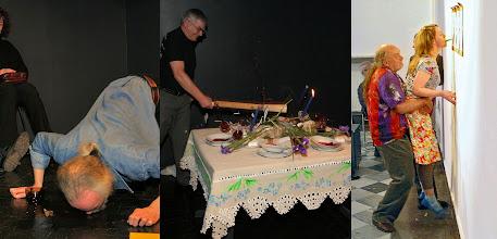 Photo: 2005 Pokazy w Klubie Performance - Tryptyk: Piekarczyk-Rylke-Pr.Kwiek/A.Bogacka_zdj MTym_TSikorski