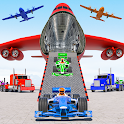 Us Police Multi level Car Transport Truck Games icon