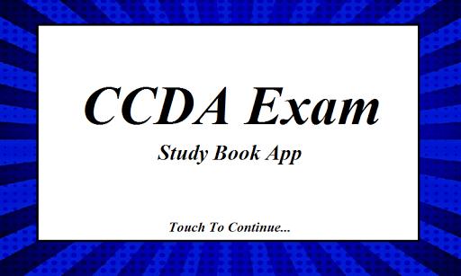CCDA Exam Prep Flashcards