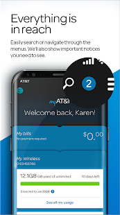 myAT&T- screenshot thumbnail