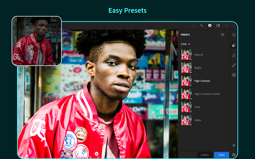 Adobe Lightroom - Photo Editor & Pro Camera 5.1 screenshots 10