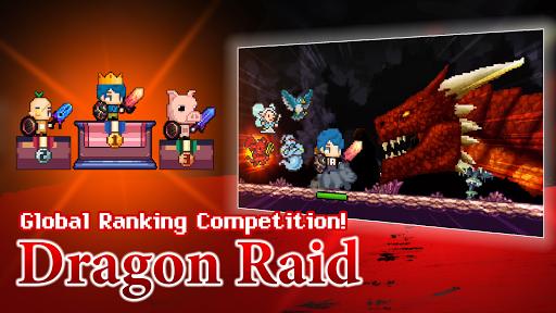 Dungeon & Alchemist - Idle Pixel RPG : Dragon Raid  captures d'écran 2