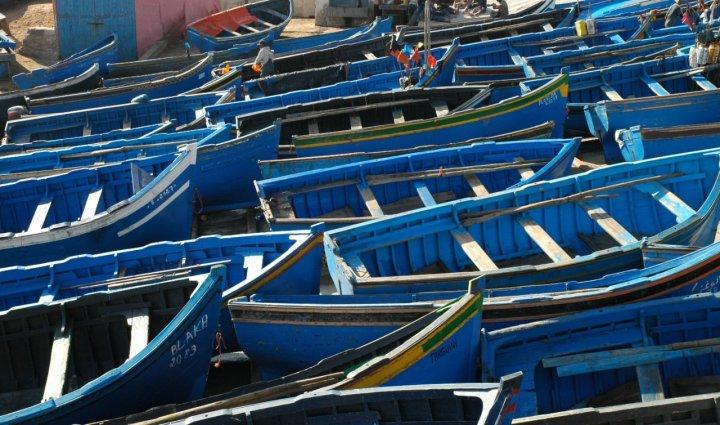 Villaggio di pescatori di csan