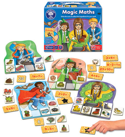 Magisk Matte - Mattespel -7763-482-9