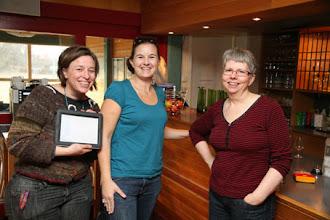 Photo: Även i år fanns det bild på oss alla tre som arrangerar, Ingrid,Linda och Marie, tillsammans på en och samma bild!