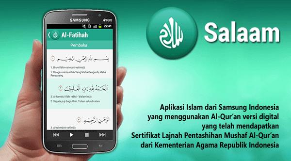Salaam, Aplikasi Al-Qur'an Digital Dari Samsung Indonesia