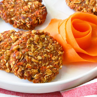 Ridiculously Healthy Carrot & Oat Cookies.