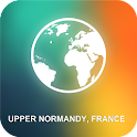 Upper Normandy, France Map icon